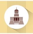 capitol building design vector image