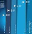 Modern blue design layout vector image