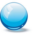 glass ball vector image vector image