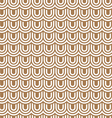 Beige striped flaked seamless pattern vector image