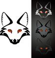 logo fox vector image vector image