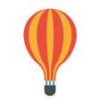 icon symbol art design of air travel balloon vector image