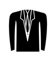 men clothes design vector image