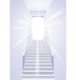 Ascension on a ladder - vector image