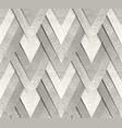 silver metallic seamless pattern vector image