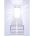 Ascension on a ladder - vector image