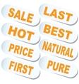 Sticker Sale vector image vector image