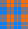 tartan fabric texture seamless pattern orange and vector image