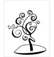art tree vector image