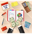 income concept flat design vector image