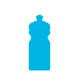 Sports water bottle icon vector image