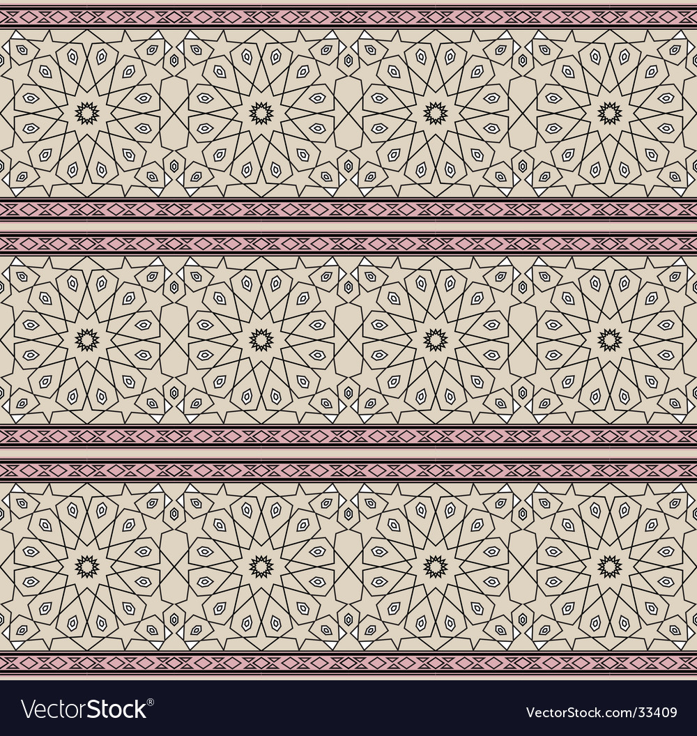 Persian pattern vector