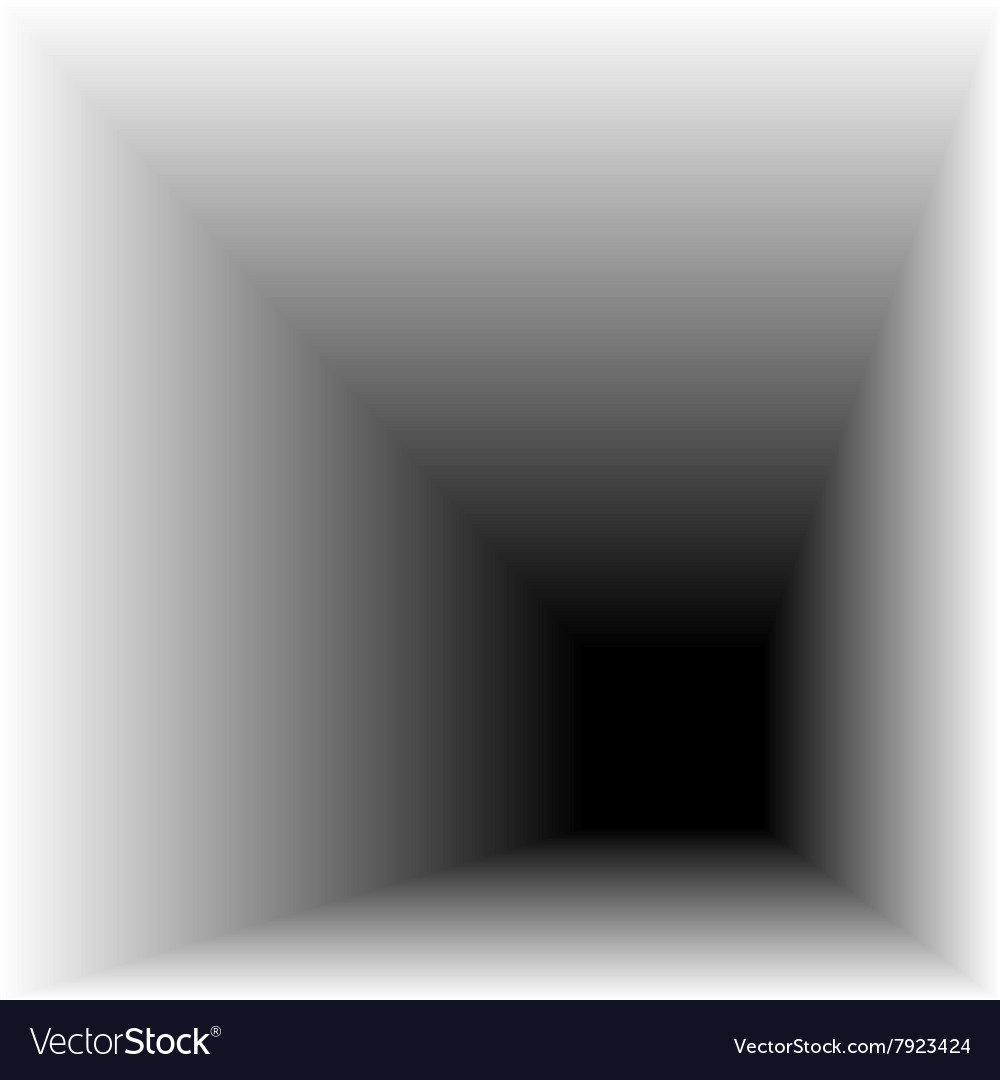 Tunnel to another world vector