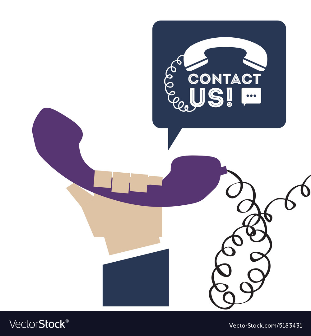 Telemarketing design vector