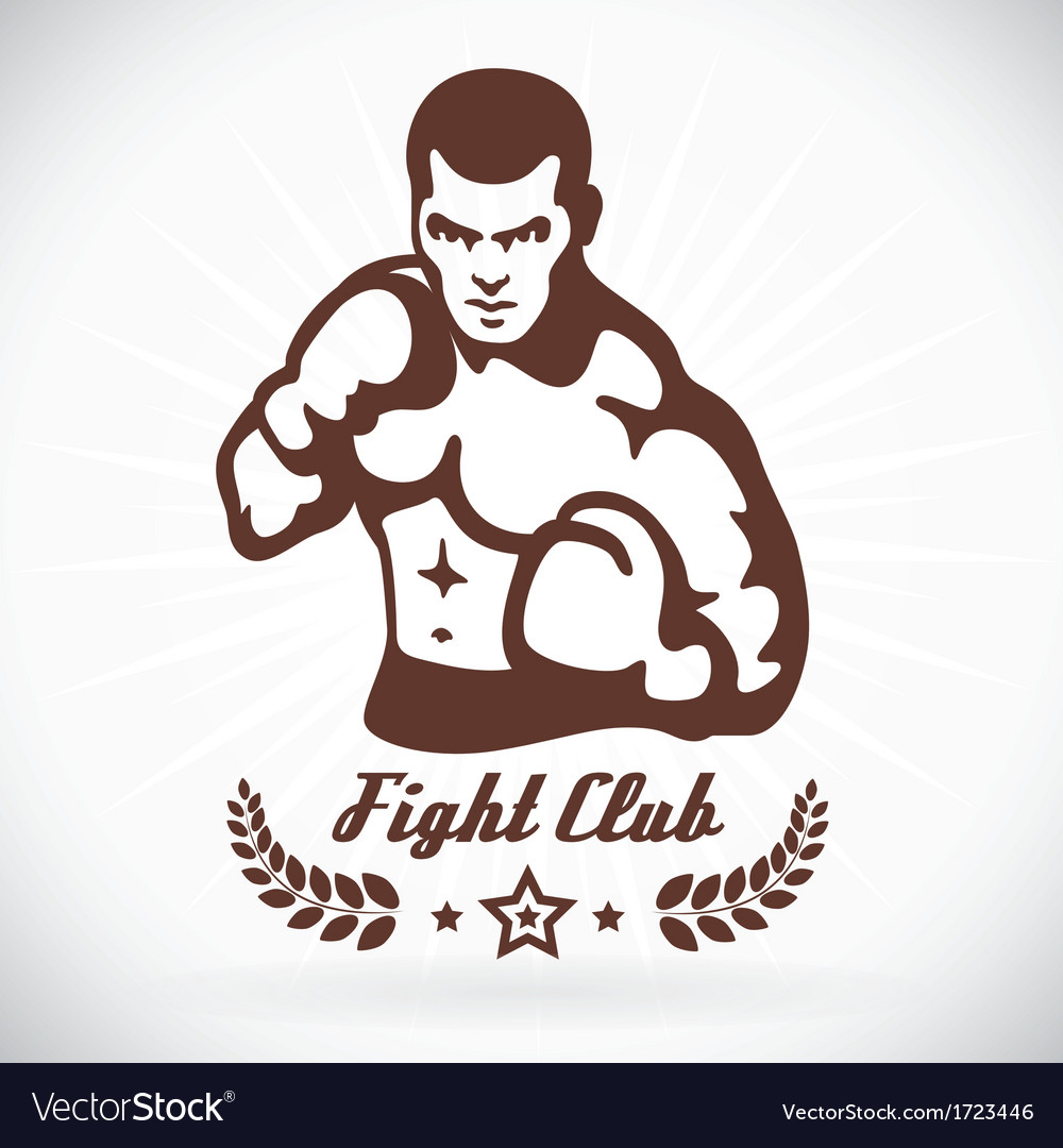 Boxer fitness model vector