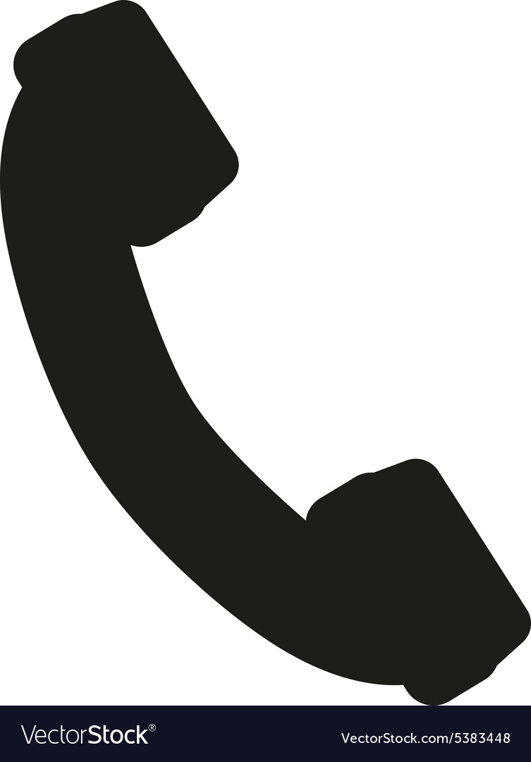 Phone icon phone symbol flat vector