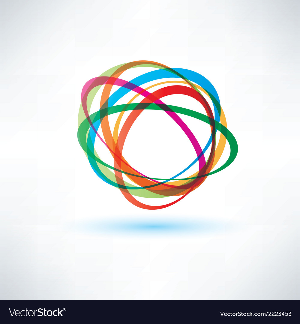 Abstract symbol business deisign element vector