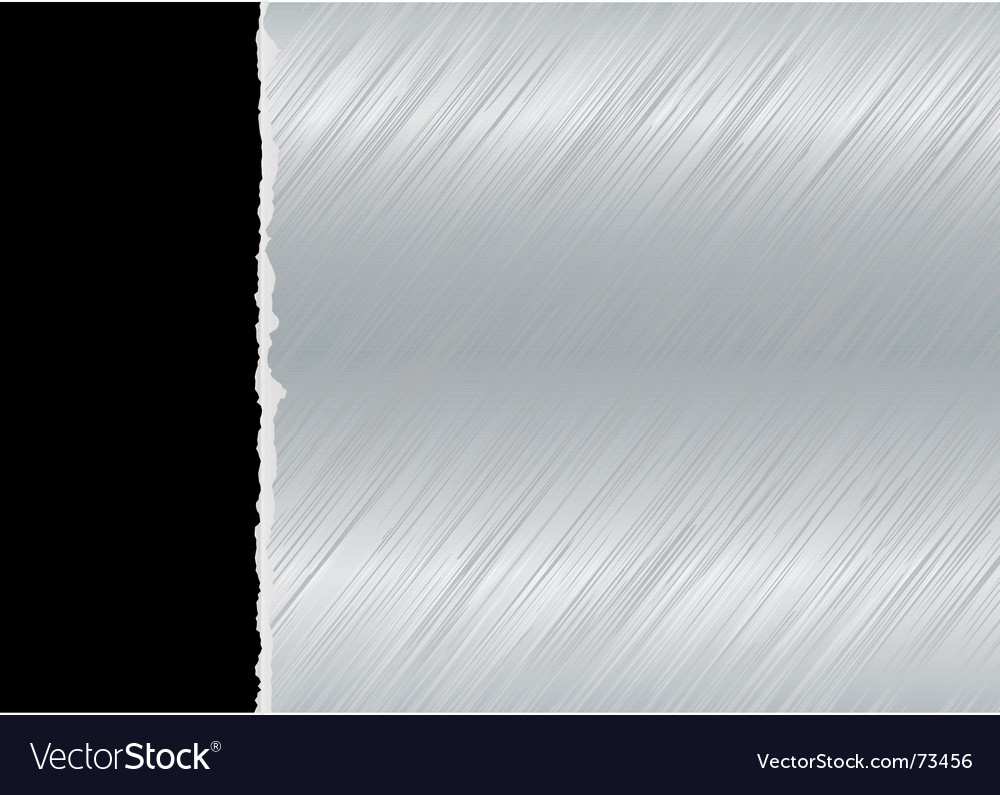 Metal torn sheet vector