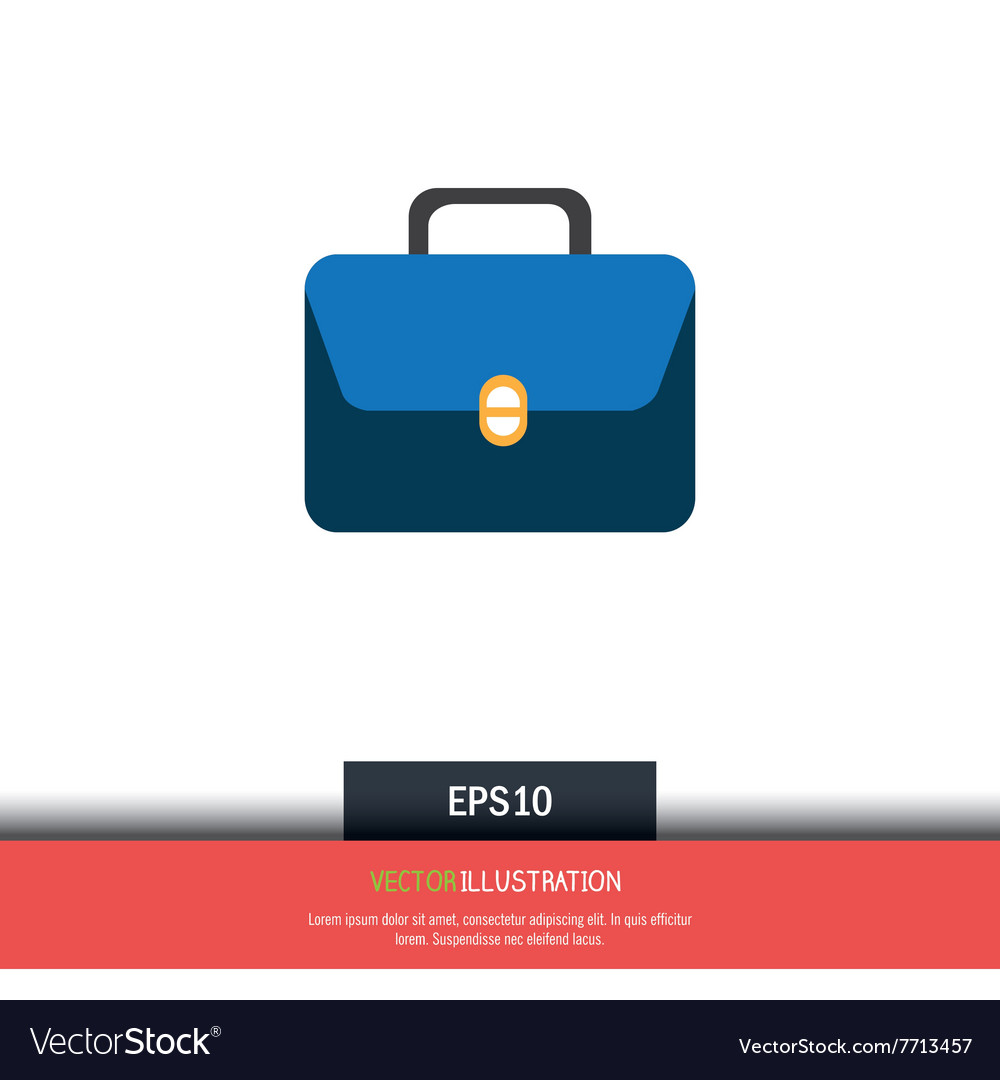 Bag icon design vector