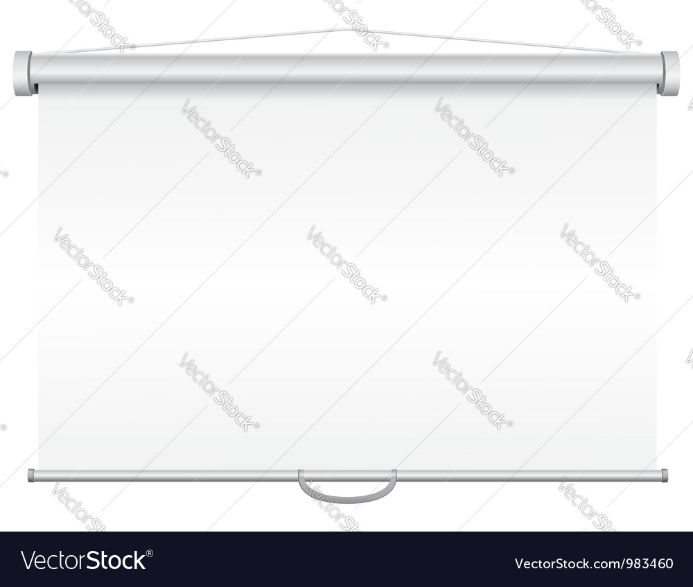 Projection screen 02 vector