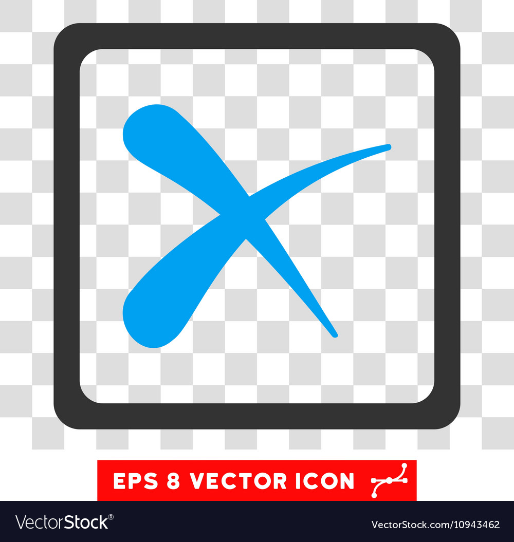 Reject eps icon vector