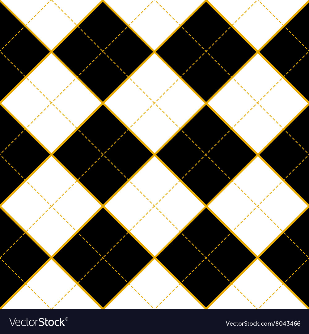 Royal white black diamond background vector