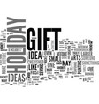 Why crafts are still a wonderful holiday gift vector image