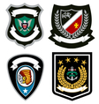 emblem badge design vector image vector image