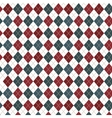 colorful pattern with diamond shapes vector image