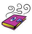 magic book icon icon cartoon vector image