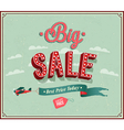 Big sale typographic design vector image