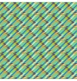 multicolor modern version of houndstooth vector image