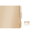 paper folders vector image vector image