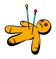 voodoo doll icon icon cartoon vector image