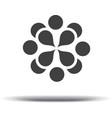 Natural logo design Design icon Logo design temp vector image