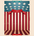 fourth of july - american background vector image