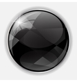 Glossy Application Icon Template vector image vector image