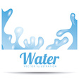 water concept vector image