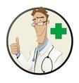 healthcare farmacy and medicine concept vector image