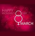 happy women s day vector image