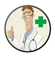 healthcare farmacy and medicine concept vector image