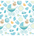pattern baby background vector image