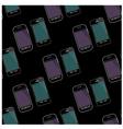 Seamless smartphones pattern vector image vector image