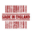 made in england icon vector image vector image