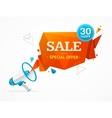 Sale Label Concept vector image vector image