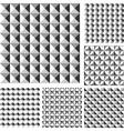 Design seamless geometrical pattern vector image