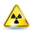 radiation sign vector image vector image