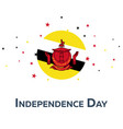 independence day of brunei patriotic banner vector image
