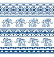 Ethnic jacquard ornament vector image
