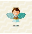 cute angel design vector image